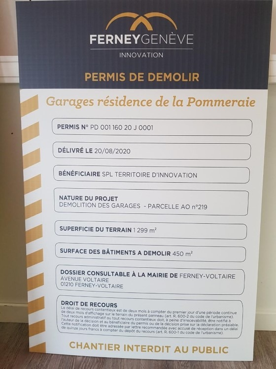 Enseignes Panneaux à St Genis Pouilly